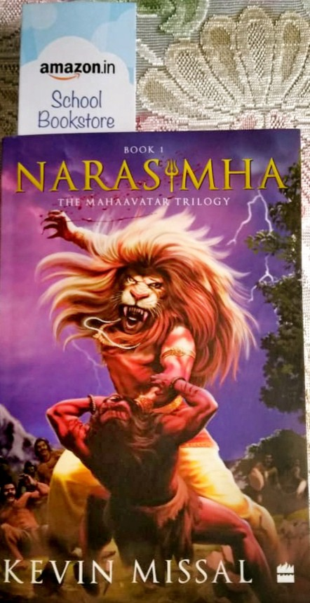 Book Review - Narasimha: The Mahaavatar Trilogy Book 1 by Kevin Missal