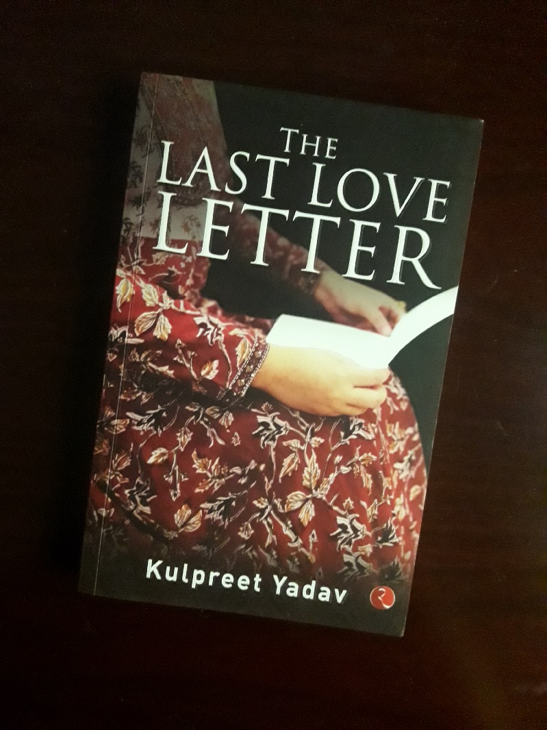 Book Review - The Last Love Letter by Kulpreet Yadav