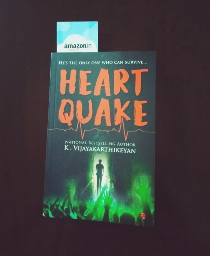 Book Review — HeartQuake by K.Vijayakarthikeyan
