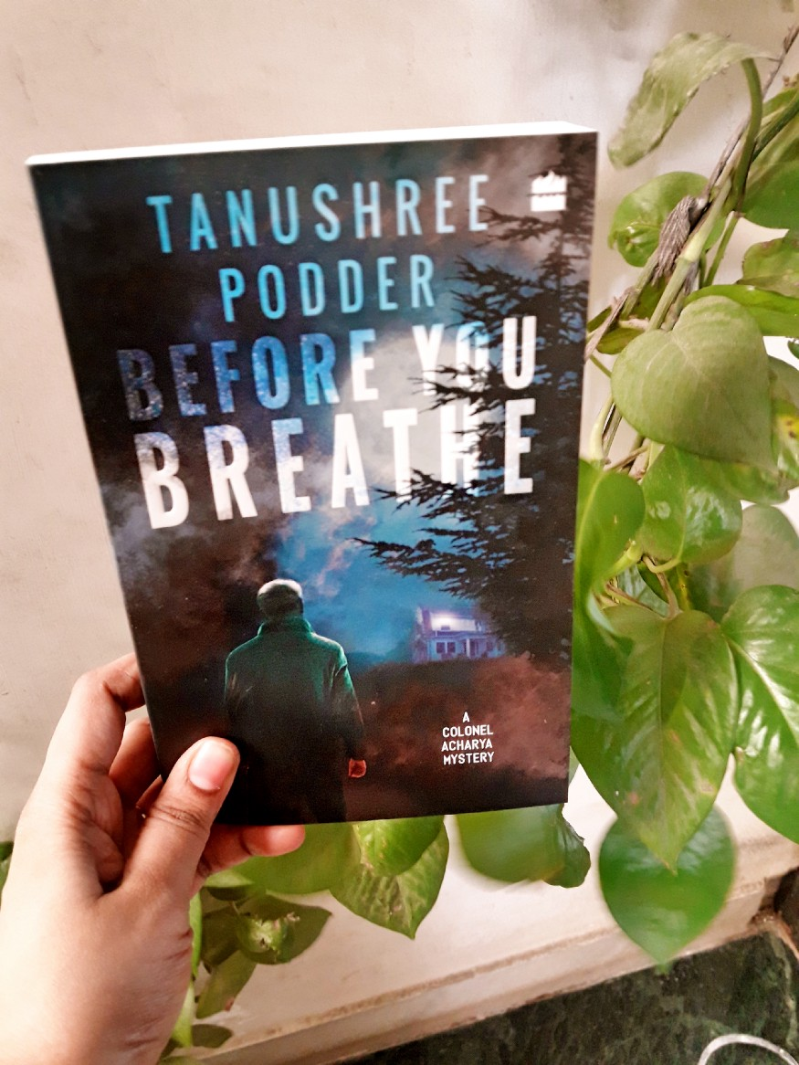 Book Review — Before You Breathe by Tanushree Podder