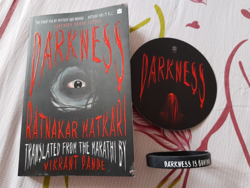 Book Review - Darkness  by Ratnakar Matkari (Author), Vikrant Pande (Translator)